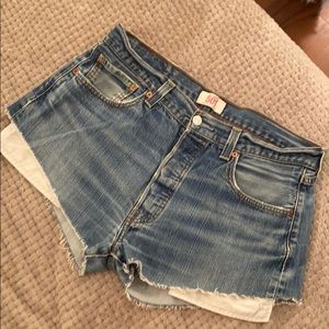 Vintage Levi's cutoffs from Urban Outfitters